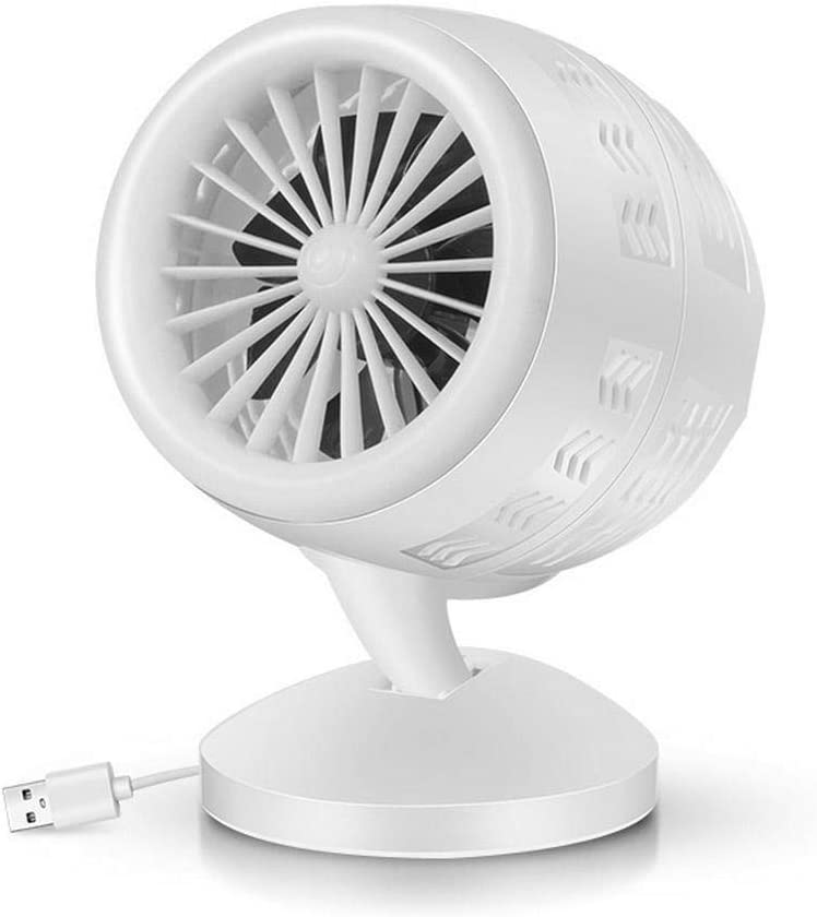 Lunir Portable USB Interface Touch Button Desktop Fan Home Office Fan Personal Fans