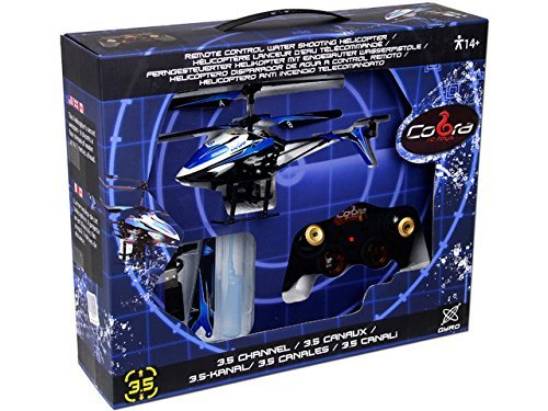 Cobra Toys Water Shooting 3.5 Channel Gyro Copter [並行輸入品] B078BP151R