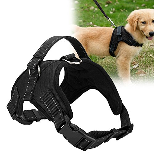 TTnight-Large-Pets-Vest-Harness-Soft-Adjustable-Lead-Leash-Dogs-Walk-Out-Hand-Strap-Collar