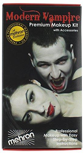 Mehron Makeup Premium Character Kit (Vampire)