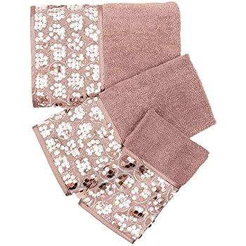 Amazon Com Popular Bath Bath Towels Shimmer Collection