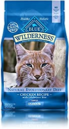 BLUE Wilderness Adult Indoor Grain-Free Chicken Dry Cat Food 5-lb