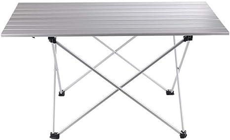 LYFHL-Folding table Mesa de Picnic, Mesa Plegable portátil de ...