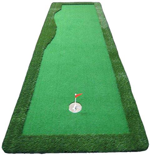 EKGOLFGREEN(イーケーゴルフグリーン) 本格人工芝ゴルフパターマット EP01 【1.2×4m】   B00TYBAZQA