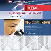 DuPont Platinum Max Allergen Air Filter, 16x25x1, MERV 12, 4-Pack