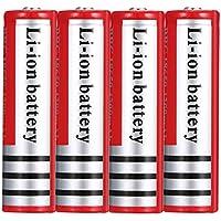 18650 Batterij 3.7 V 4200 Mah Knop Top Oplaadbare Lithium Batterijen Li-Ion Oplaadbare Batterij Grote Capaciteit Voor…