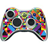 Geometric Xbox 360 Wireless Controller Skin - Parallel Vectors Vinyl Decal Skin For Your Xbox 360 Wireless Controller by Skinit