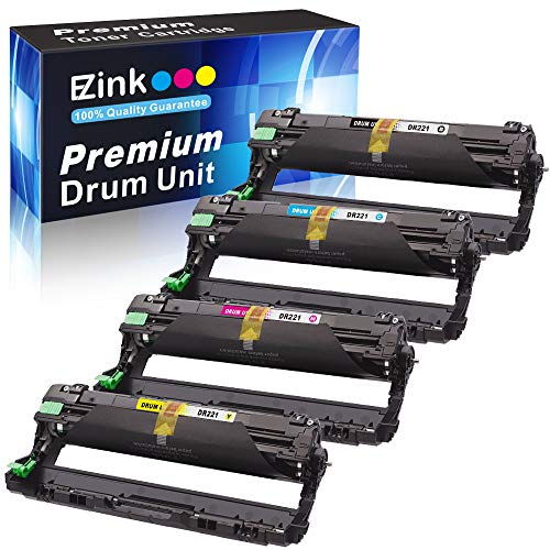 (E-Z Ink(TM) Remanufactured Drum Unit Replacement For Brother DR221CL DR221 DR-221 to use with HL-3140CW HL-3170CDW MFC-9130CW MFC-9330CDW MFC-9340CDW )
