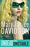 Undead and Unstable, MaryJanice Davidson, 0425247570