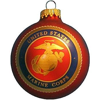 Amazon.com: Pewter USMC Marine Corps Insignia Semper Fi Christmas ...