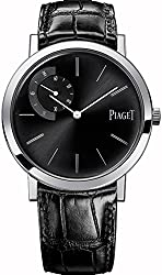 Piaget Altiplano Men's White Gold Ultra-Thin Hand-Wound Mechanical Black Dial Swiss Made Watch G0A34114