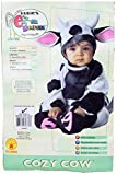 3 month old halloween costume - Rubie'szy Cow, Black/White, 0-6 Months