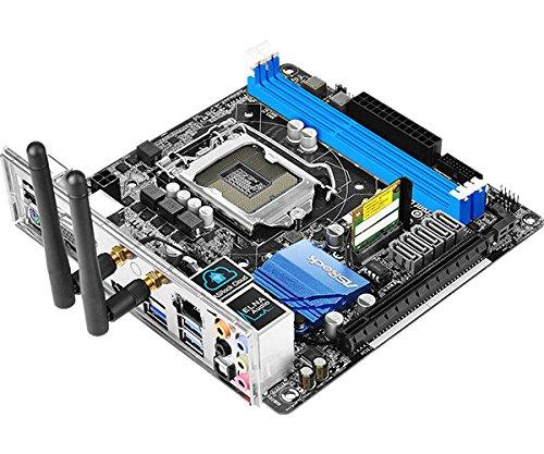 ASRock Z97M-ITX/AC LGA1150/ Intel Z97/ DDR3/ SATA3&USB3.0/ WiFi/ A&GbE/ Mini-ITX Motherboard