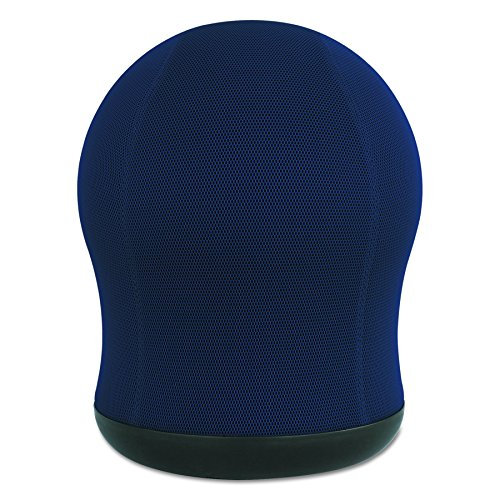 Safco Products Zenergy Swivel Ball Chair 4760BU, Blue, Active Seating Experience, CPSI Certified