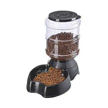 qganylO Comedero automático para Mascotas, para Perro, Gato, Bebedero de Gran Capacidad,