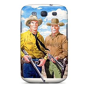 Galaxy S3 Hard Back With Bumper Silicone Gel Tpu Case Cover Tex Willer