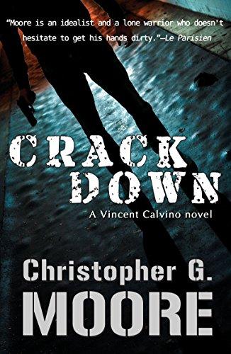 Crackdown (Vincent Calvino Crime Novel Book 15) (Banksy Kindle Case)