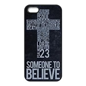 Fashion Bible Verse Personalized iPhone 5,5S Rubber Silicone Case Cover