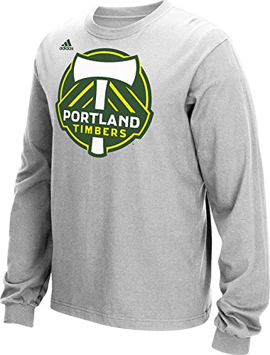 Mls Portland Timbers Mens Long Sleeve Tee  Grey  Small