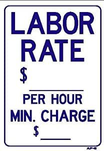 Labor rate per hour min charge for Gardening rates per hour 2018