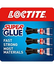 Loctite Universeel, sterk all-purpose lijm voor hoogwaardige reparaties, transparante lijm voor verschillende materialen, gemakkelijk te gebruiken Instant Super lijm, handige reismaat 3 x 1 g