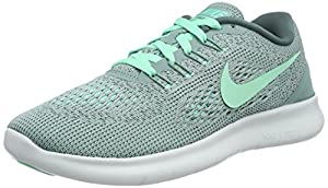 NIKE Women's Free RN Running Shoe Cannon/Green Glow/Hasta/Off White Size 6