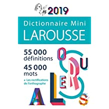 DICTIONNAIRE LAROUSSE MINI 2019