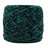 Holata 250g Gold Velvet Yarn Roving Scarf Knit Wool Yarn Thickness Warm Hat Household J