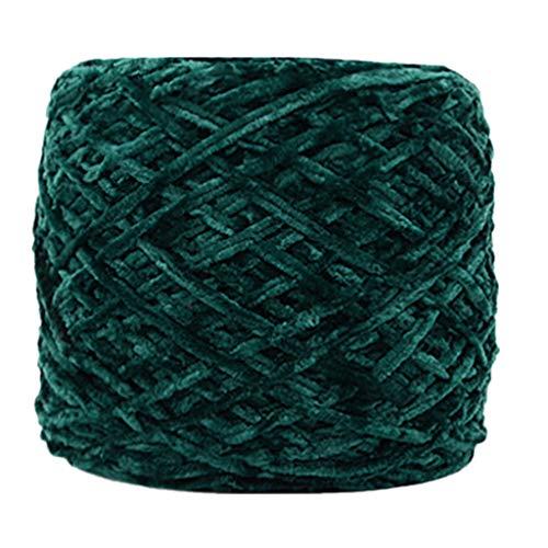 Holata 250g Gold Velvet Yarn Roving Scarf Knit Wool Yarn Thickness Warm Hat Household J