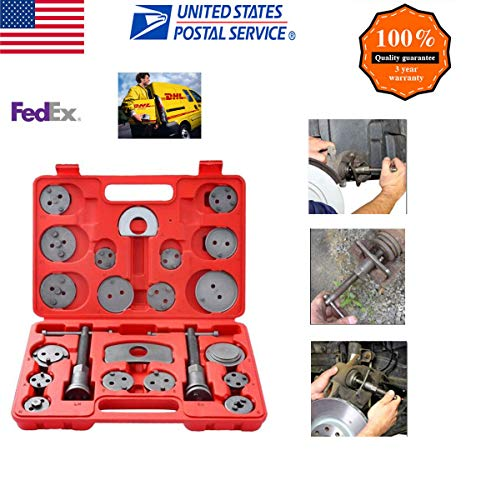 cnnIUHA 22-Piece Heavy Duty Disc Brake Caliper Tool Set and Wind Back Kit for Brake Pad,Automotive Tools & Equipment(Shipped from USA) ()