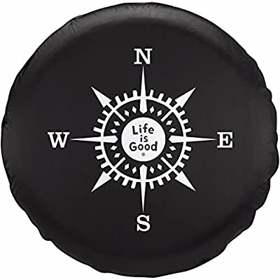 Life is Good Tire Cover Compass Lig