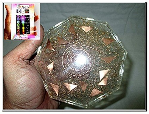 Jet Exquisite Crystal Quartz Pyramid Energy Generator Free Booklet Jet International Crystal Therapy.