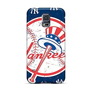 Samsung Galaxy S5 MbT11711PjQD Support Personal Customs Attractive New York Yankees Series Protector Hard Phone Case -TraciCheung