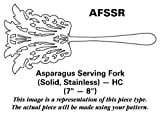 Reed & Barton Perspective (Stainless) Asparagus Serving Fork Solid Stainless HC