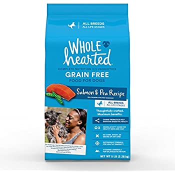 Amazon Com Wholehearted Grain Free All Life Stages Salmon