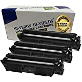 HI-VISION Compatible CF230X toner cartridge HP30X Black Toner [WITH CHIP] High Yield 3,500 pages Toner Cartridges for HP Printer MFP M227d/M227fdn/M227fdw/M227sdn/M203dw/M203dn (3-Pack)
