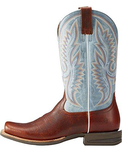 Boot Slick Mens Fireside Ariat Brown Western Big Performance 4YtRnqxw