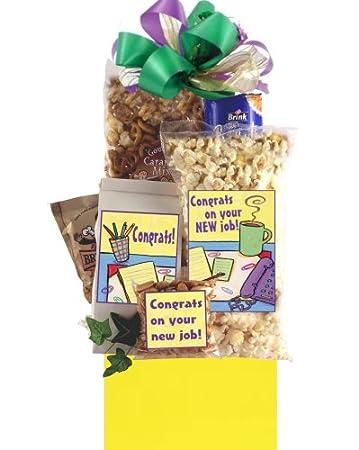 Amazon.com : Congratulations on Your New Job Gift : Gourmet Snacks ...