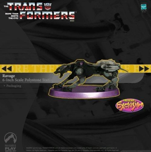 Palisades Transformers Ravage Statue - Previews Exclusive - Limited Edition Decepticon #333/750 (Starscream Reissue)