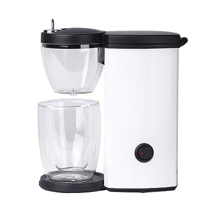 Yang máquina de café- Máquina de café 250 ml Filtro de Goteo Pequeña máquina portátil