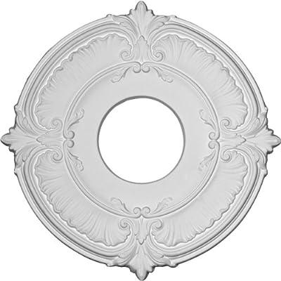 Ekena Millwork 11 3/4-Inch OD x 4-Inch ID x 1/2-Inch Attica Ceiling Medallion by Ekena Millwork
