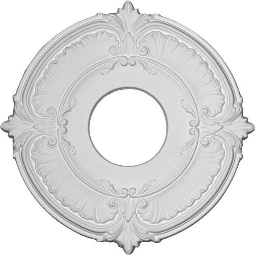 Ekena Millwork CM12AT Ceiling Medallion Primed