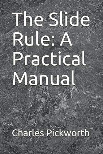 Slide Rule Manual - 1