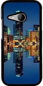 Funda para Htc One Mini 2 - Horizonte De Miami En La Noche by Carsten Reisinger