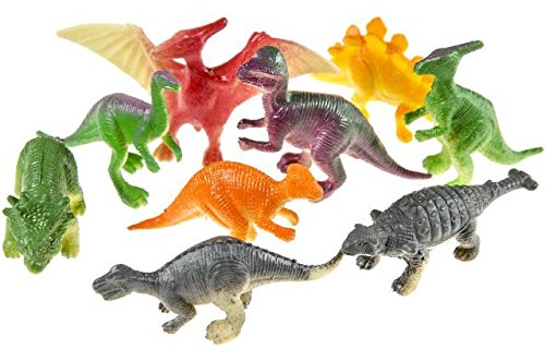 12 Dinosaurier Figuren 5-6 cm groß Dino Party Mitgebsel Give Away Tombola Unbekannt