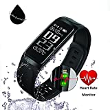 Fitness Tracker - HapFit Smart Bracelet Activity Wristband Calorie Habit Heart Rate and Sleep Monitor Bluetooth Wireless Waterproof Pedometer Watch Counter Band for IOS & Android Wear Device Support