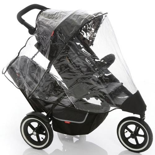 Teds Dash Double Kit - phil&teds Dash Double Storm Cover