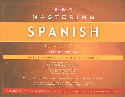 Barron's Mastering Spanish Level 1: Hear It, Speak It, Write It, Read It (Spanish Edition)