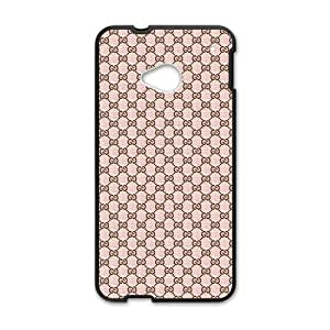 Wish-Store Simple pattern coach Phone case for Htc one M7