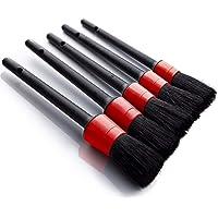 Auto auto Detailing Brush Set(Set van 5)- Automotive Detail Reinigingsborstels voor het reinigen van wielen, motor, interieur, emblemen, interieur, buitenkant, luchtopeningen